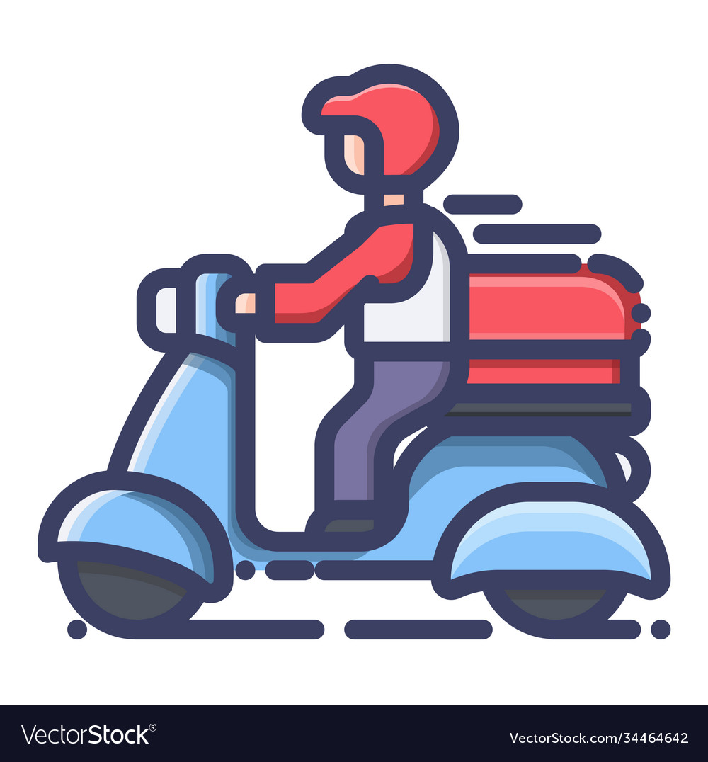 Shopping online delivery service concept icon