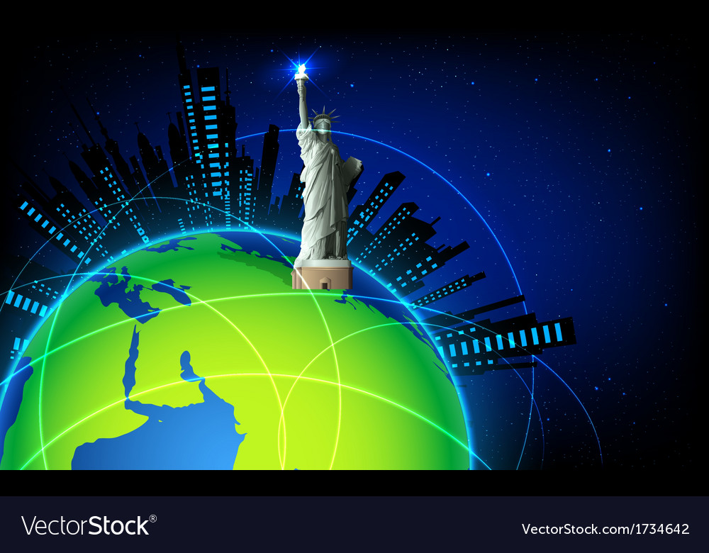 Statue of Liberty on Earth