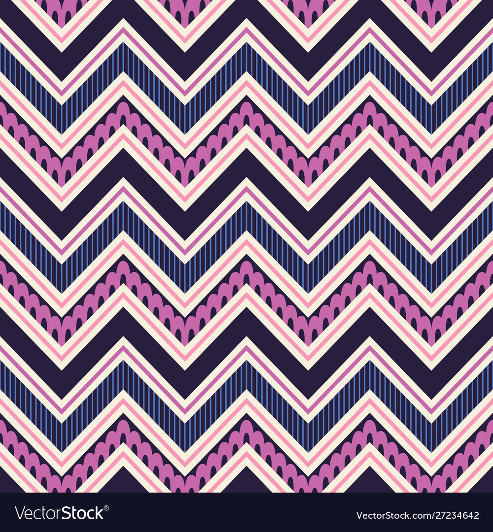Tribal geometric seamless pattern