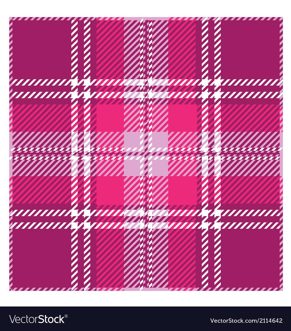 Violet Tartan Plaid Pattern Design