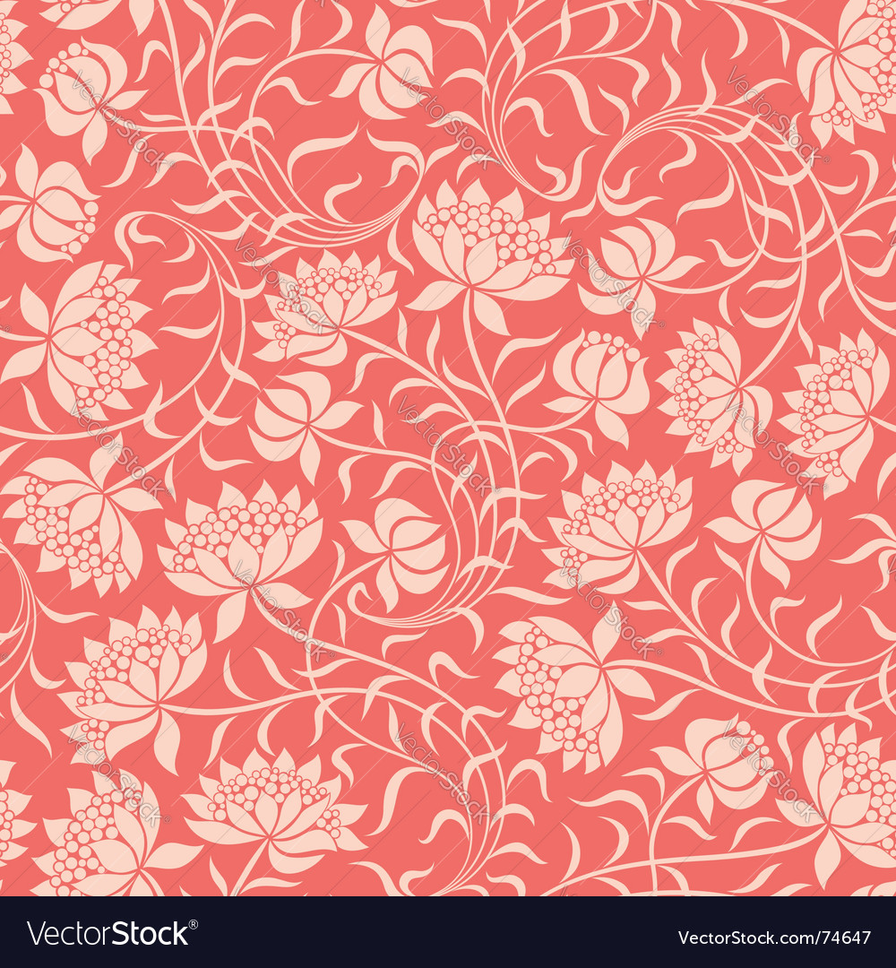 Seamless floral