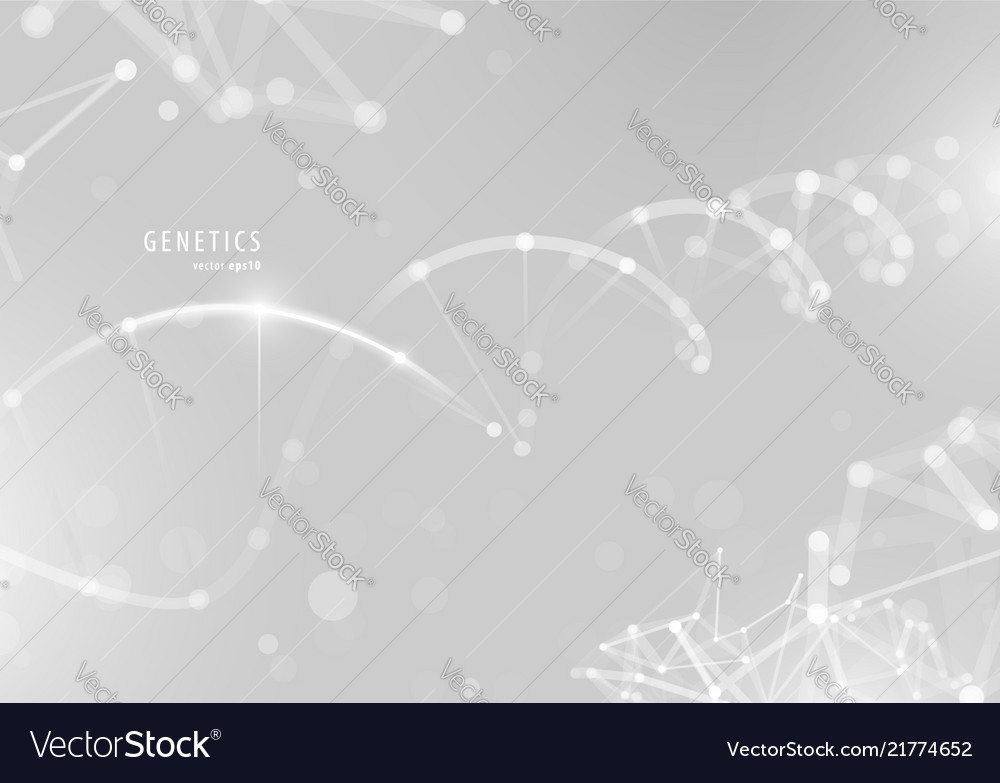 Dna spiral genetic conceptual background