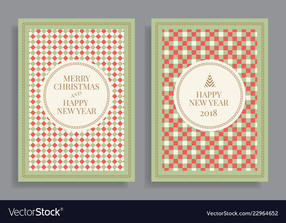 Winter holidays greeting cards