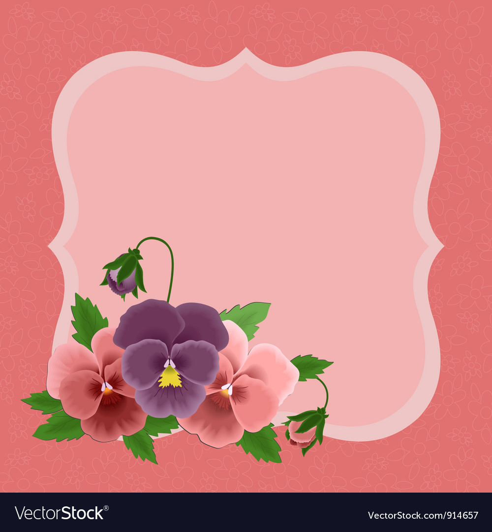 Greetings Card For Mothers Day Royalty Free Vector Image