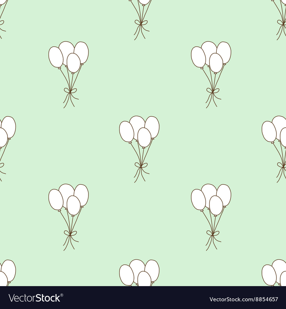 Seamless pattern balloon