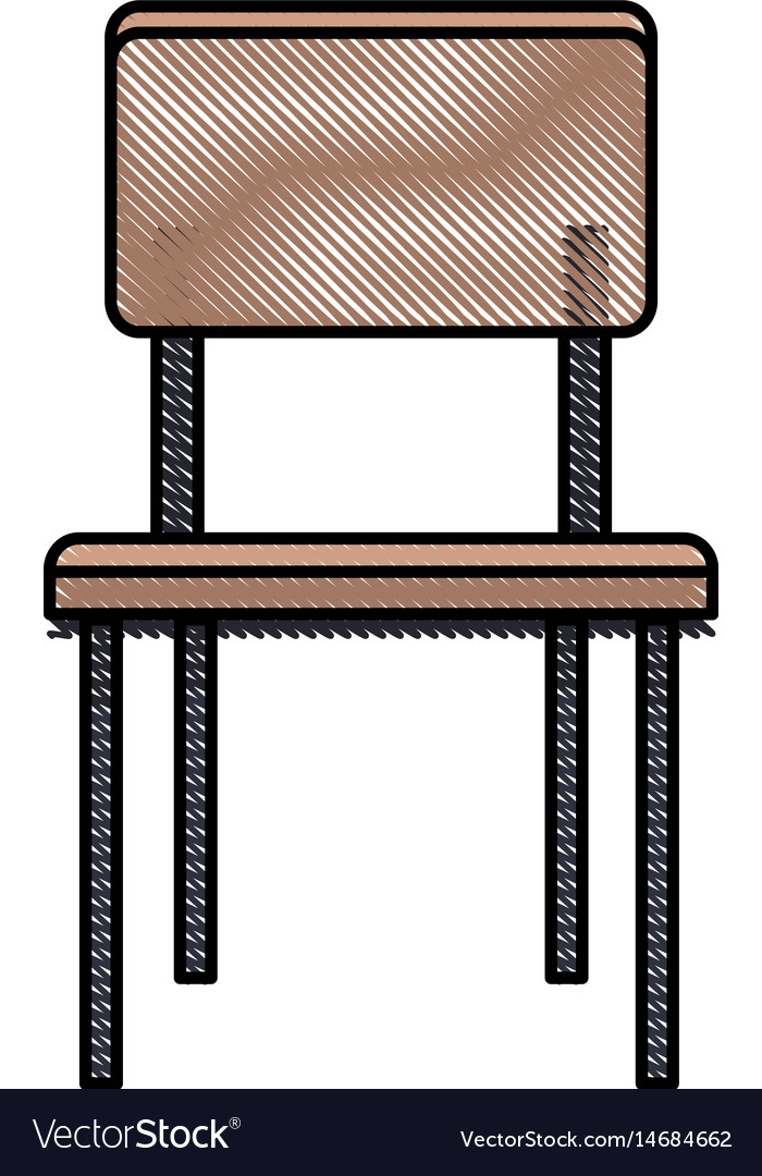 Drawing chair seat furniture wooden