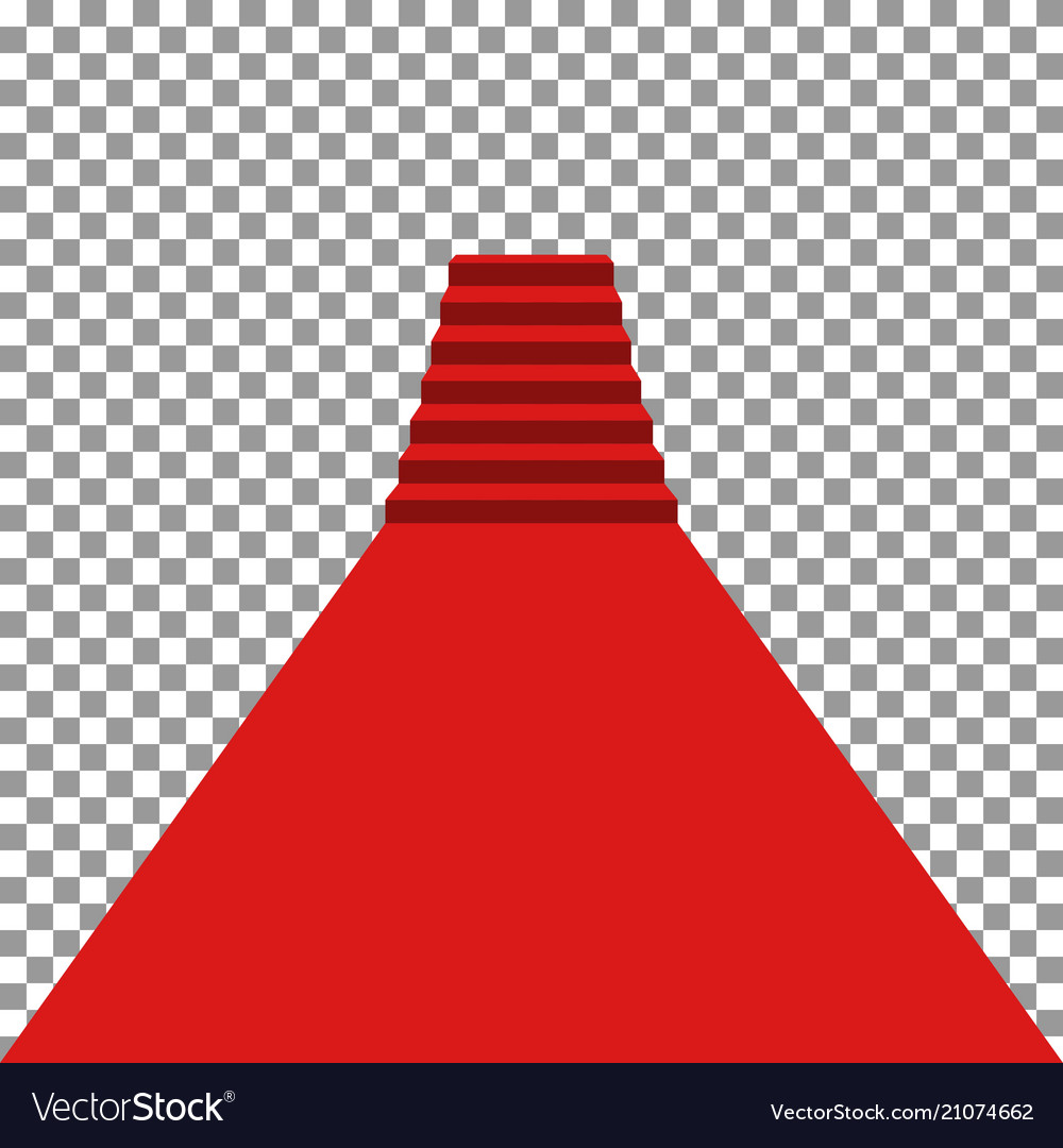Red carpet vip vector image