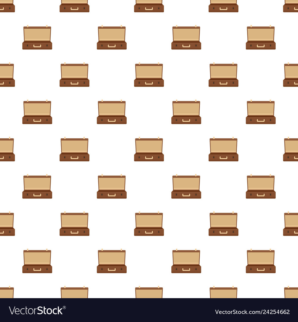 Travel case pattern seamless