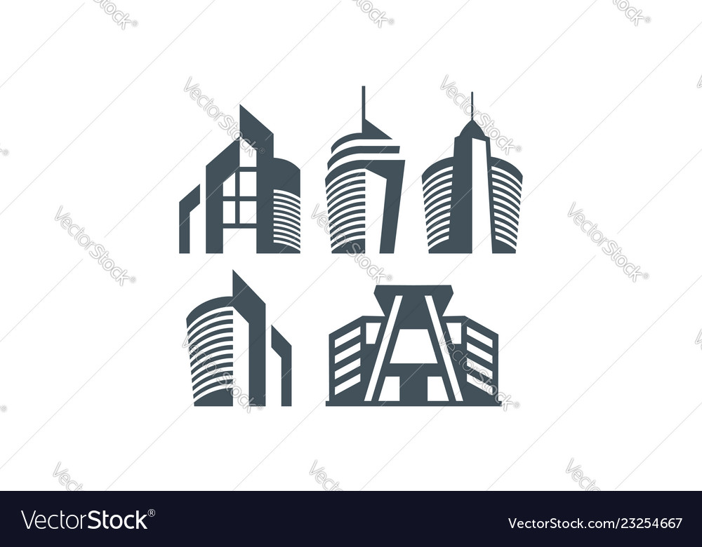 Building logo icon