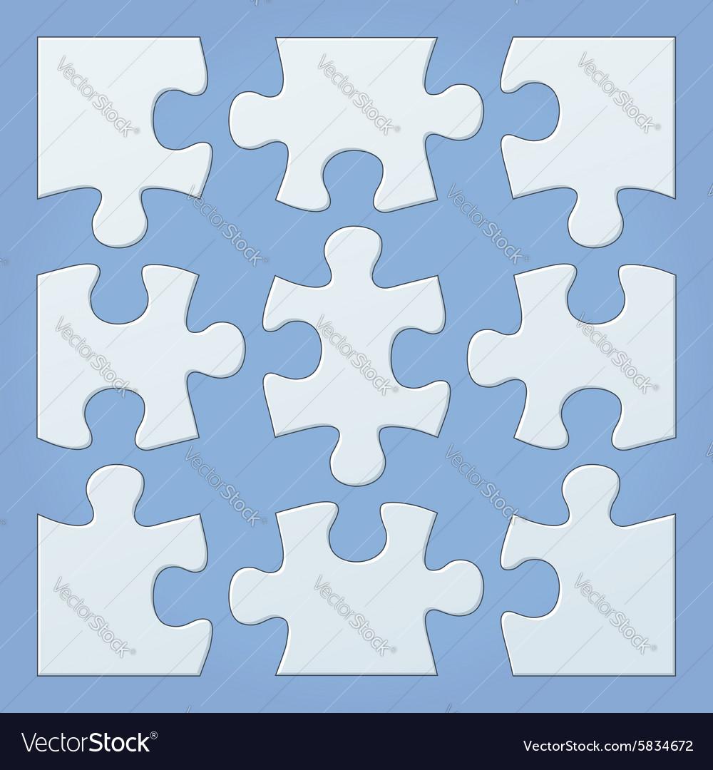 Puzzle pieces Royalty Free Vector Image - VectorStock 600d72af7