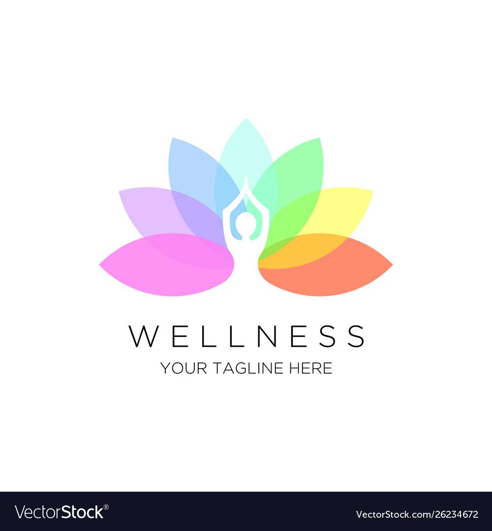 Yoga logo emblem