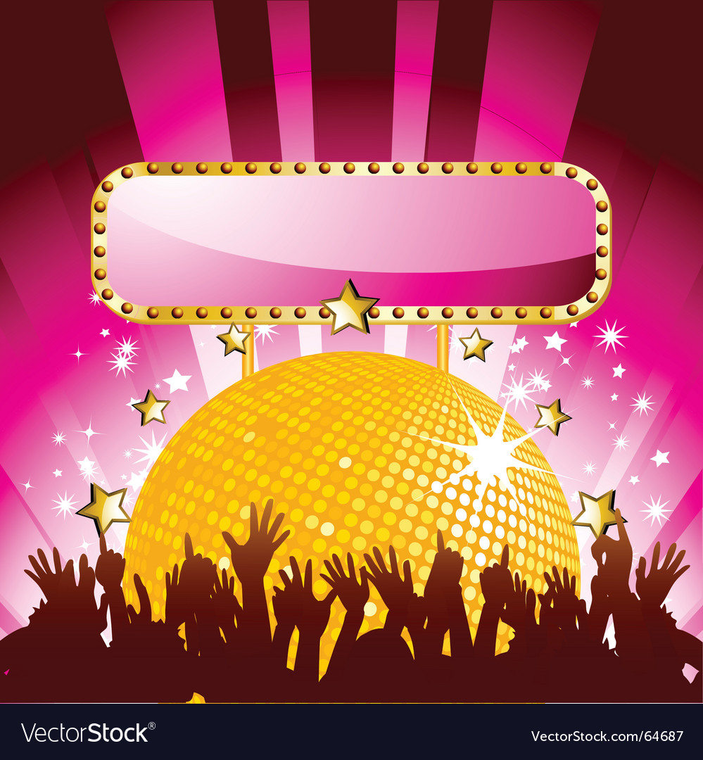 party background royalty free vector image vectorstock