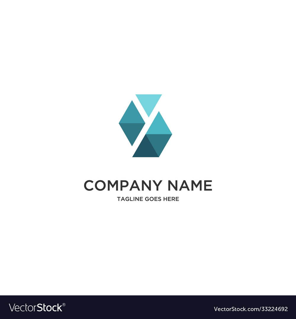 Abstract y triangle logo