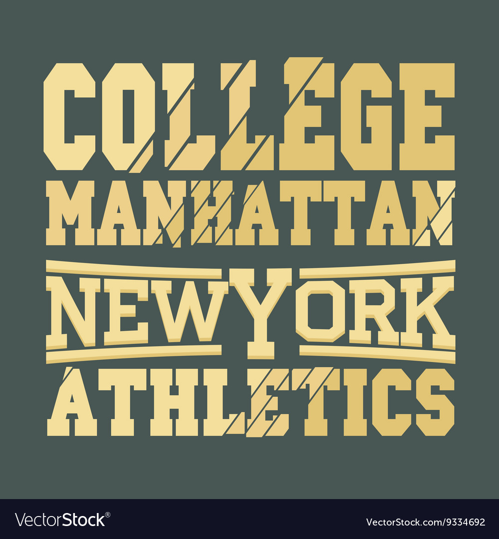 New York fashion - t-shirt design