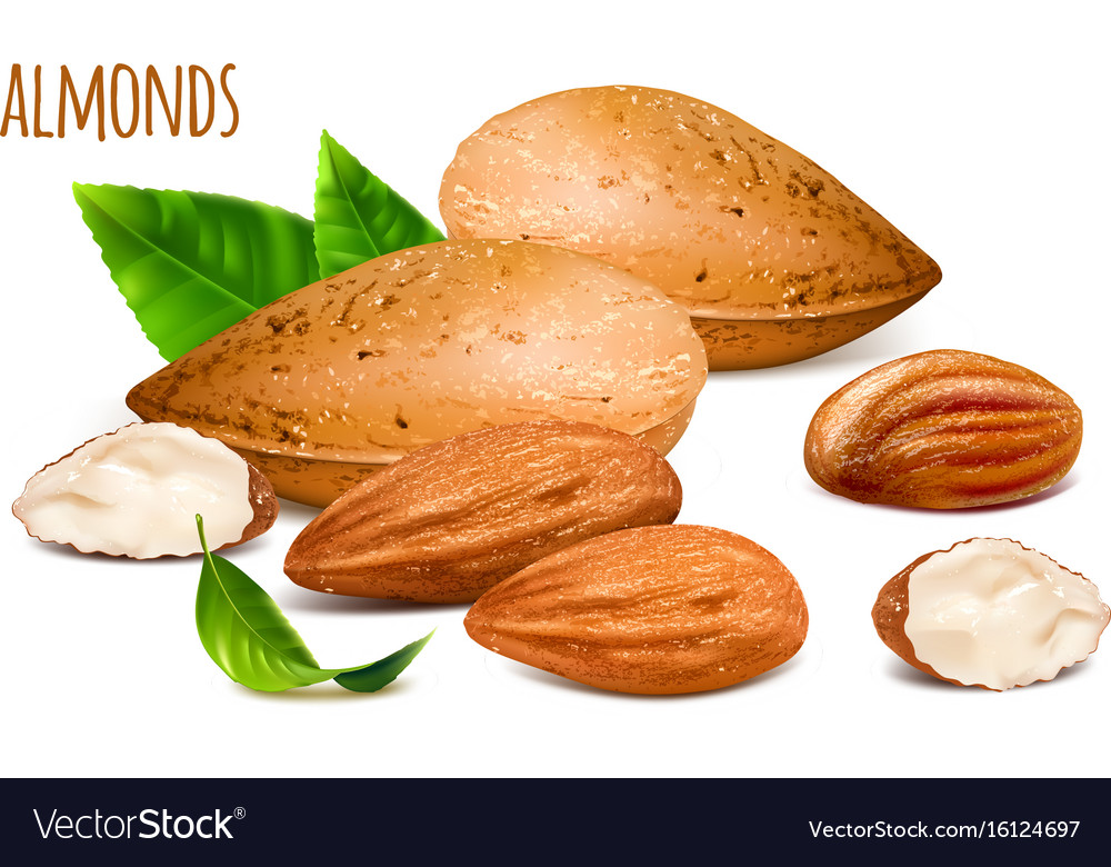 Almonds whole and almond