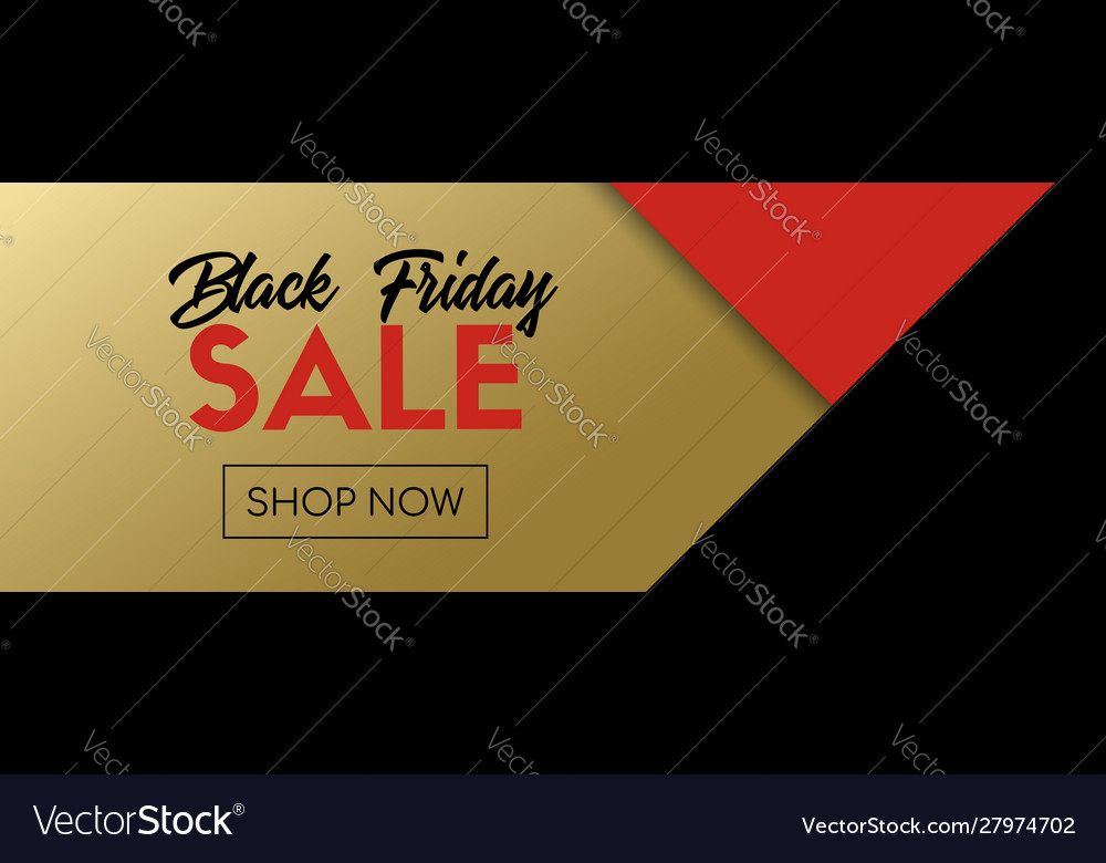 Black friday sale long banner abstract