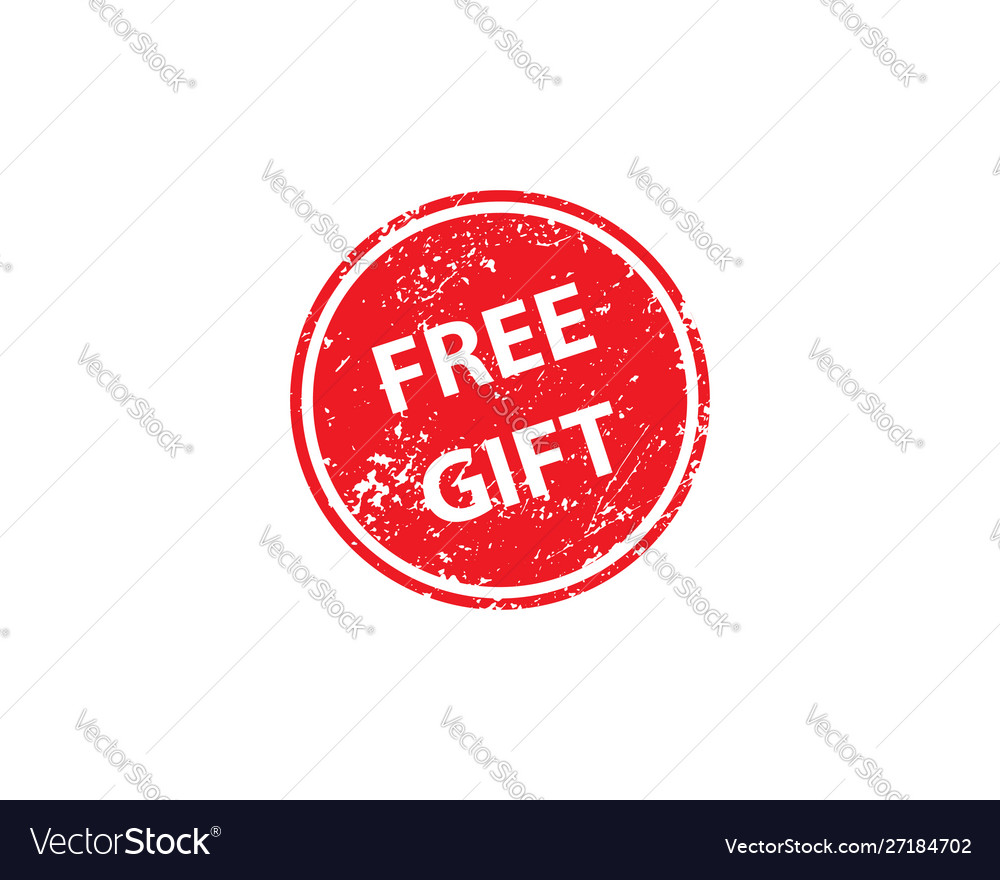 Free gift stamp texture rubber cliche imprint web