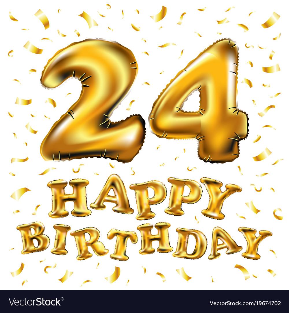Картинки с поздравлением 24 года