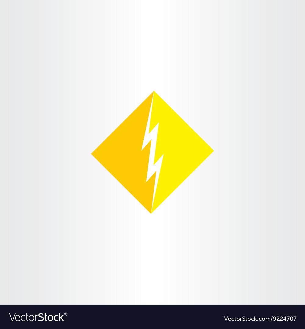 Thunder logo icon symbol sign