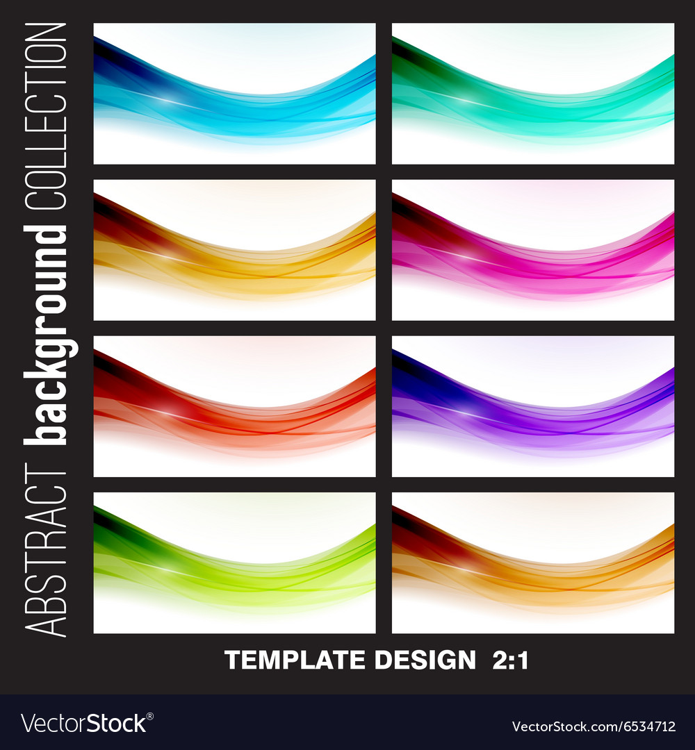 Abstract lines background Template brochure vector image