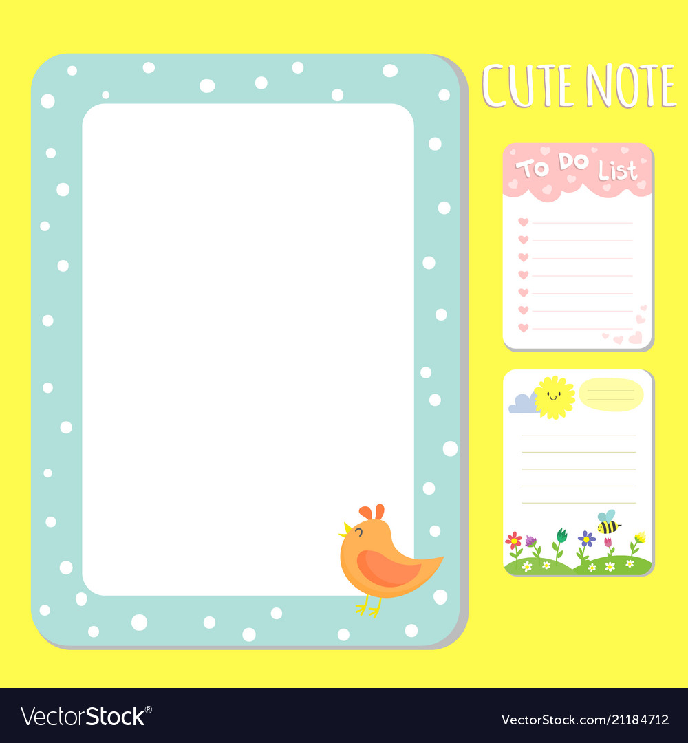 Baby Shower Invitations Cards Note List Royalty Free Vector