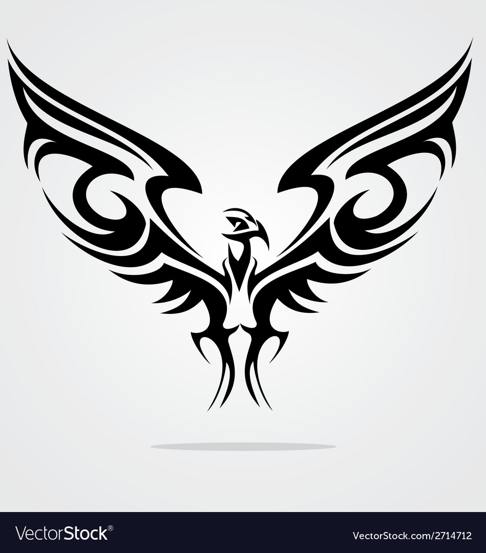 Eagle Bird Tattoo Design