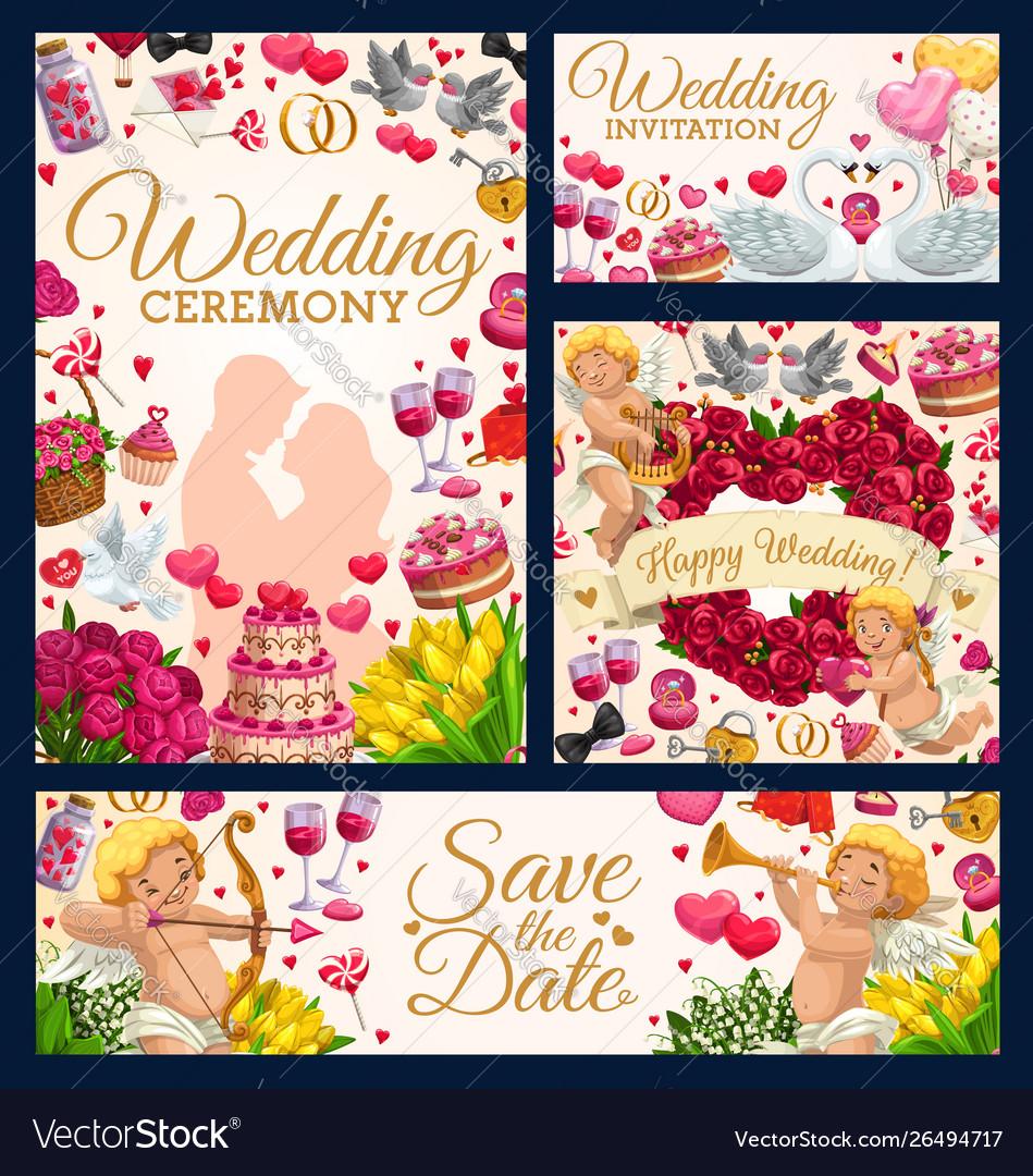 Bridal ceremony save date wedding day symbol