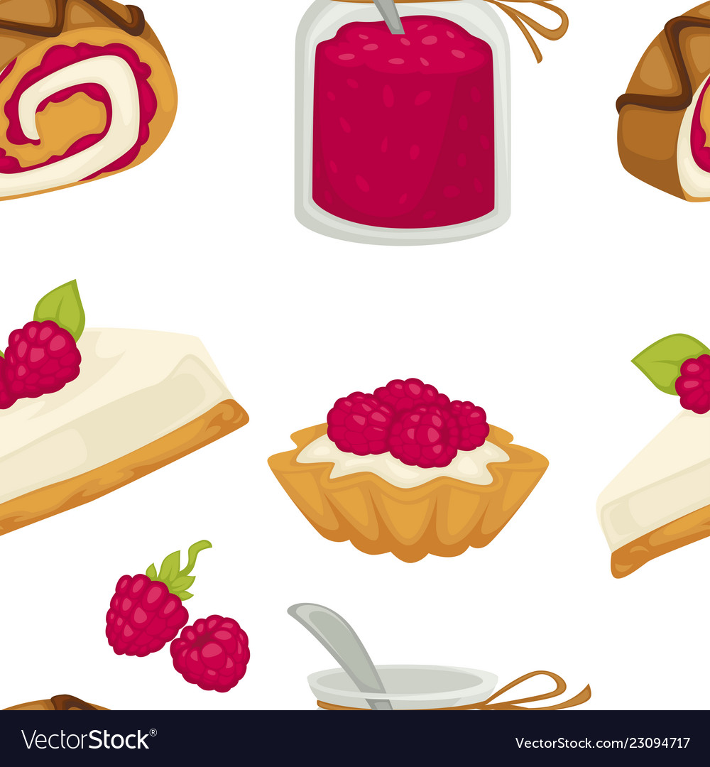 Cake sweets food with sugary ingredients and