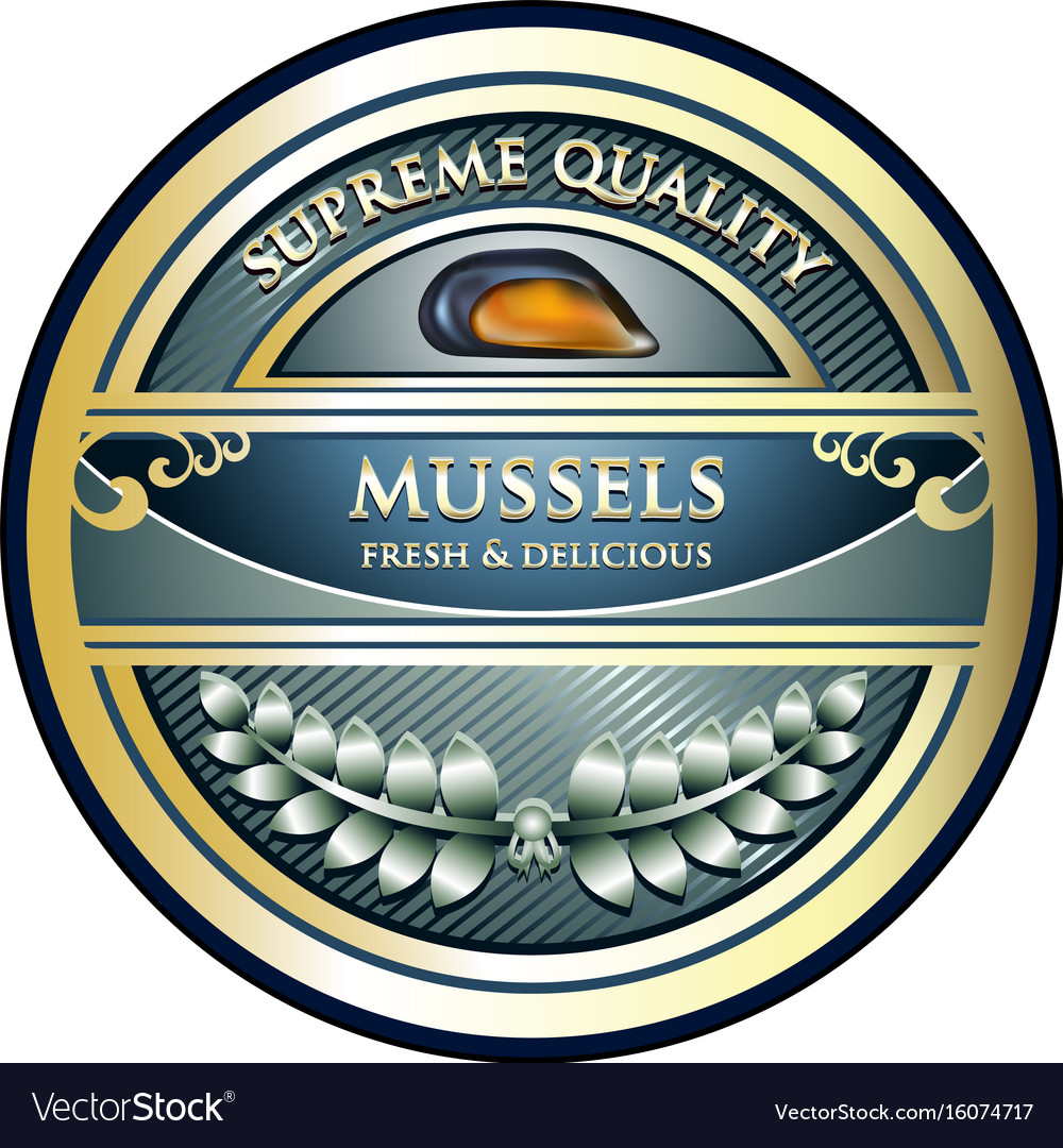 Mussels gold label