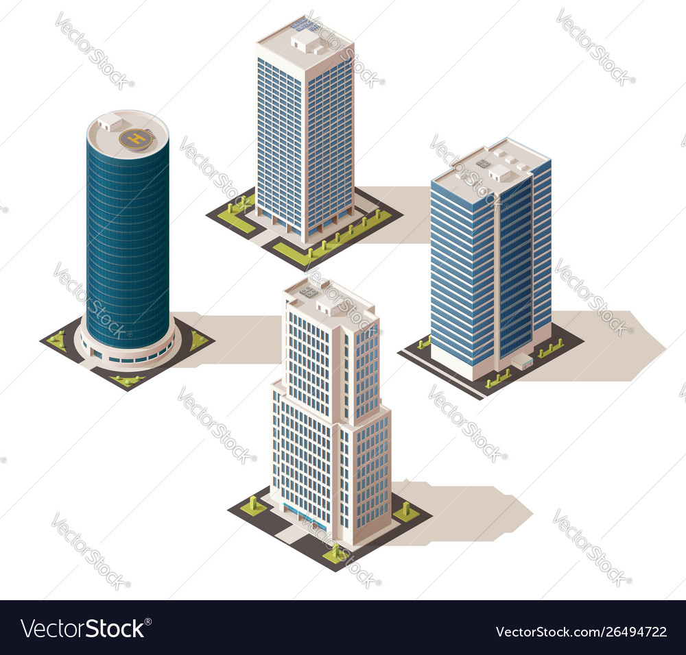 Office buildings and business centers real estate