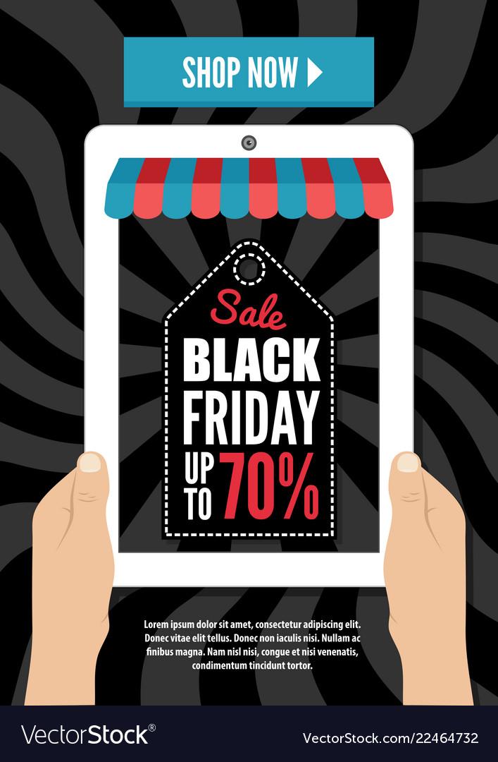 Black friday electronic commerce design