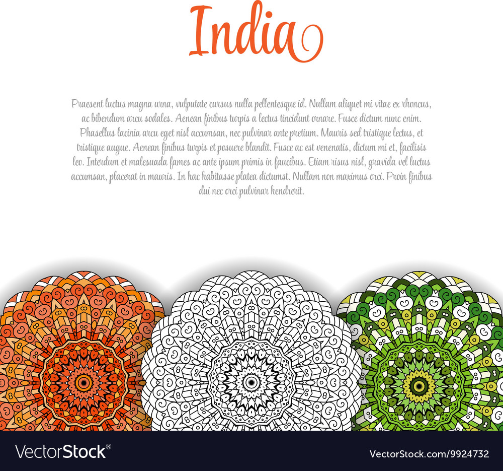 Creative Indian Independence Day concept with