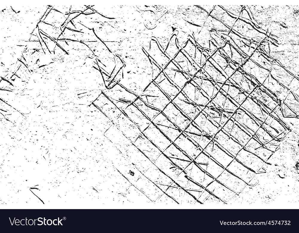 Damaged Grid vector image