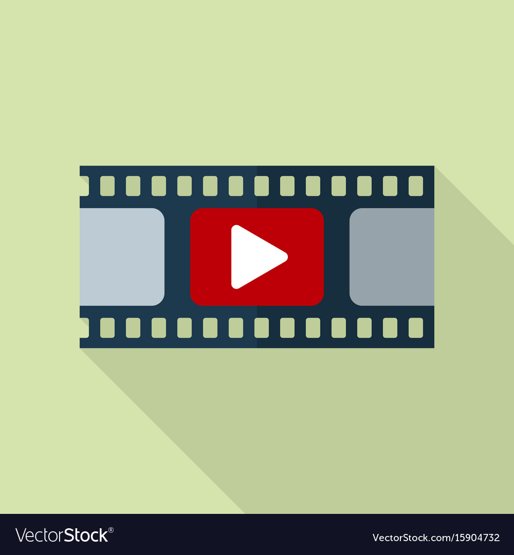 Film strip icon video icon