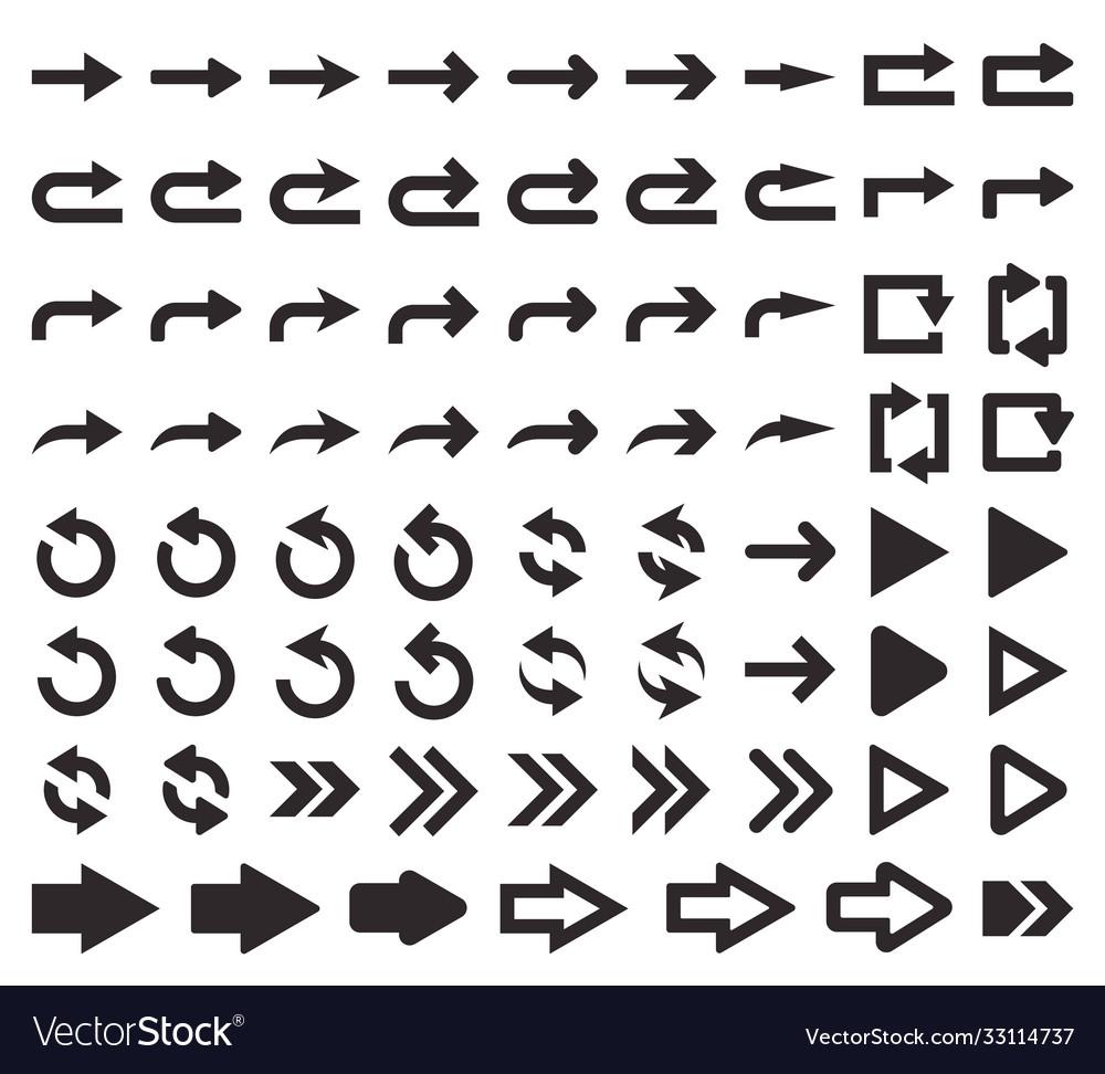 Big set arrows