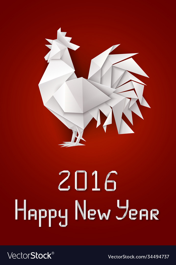 New years rooster