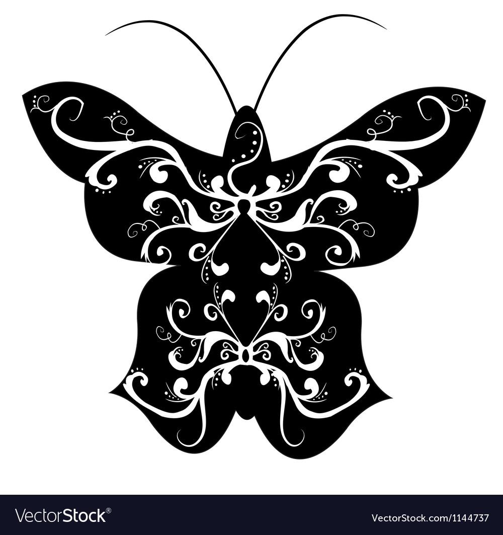 Tribal butterfly vector art - Download Butterfly vectors ...