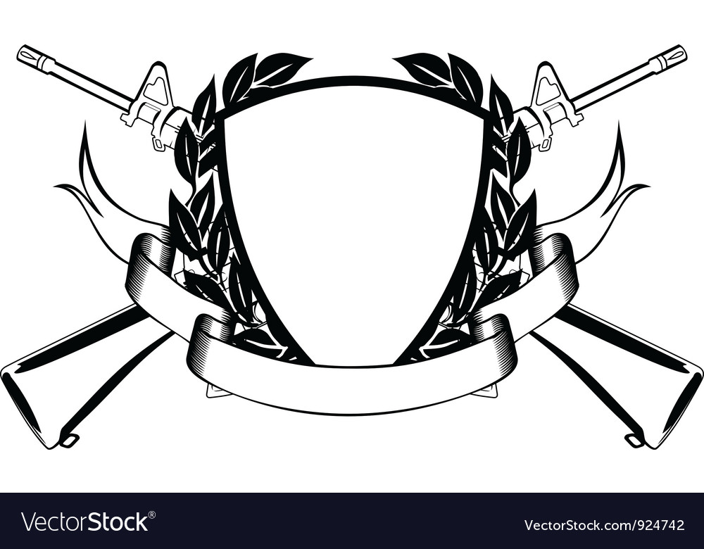Military frame Royalty Free Vector Image - VectorStock