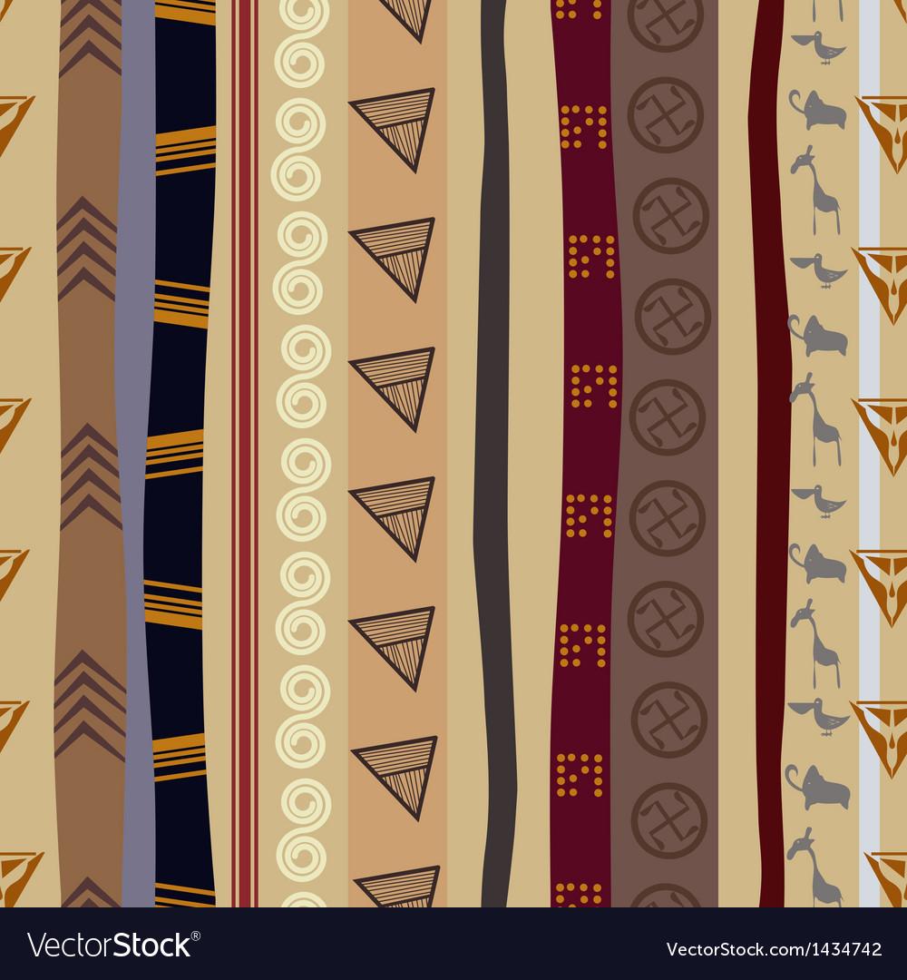 Seamless texture with animals motifs