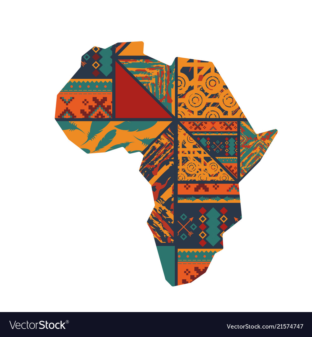 African continent background