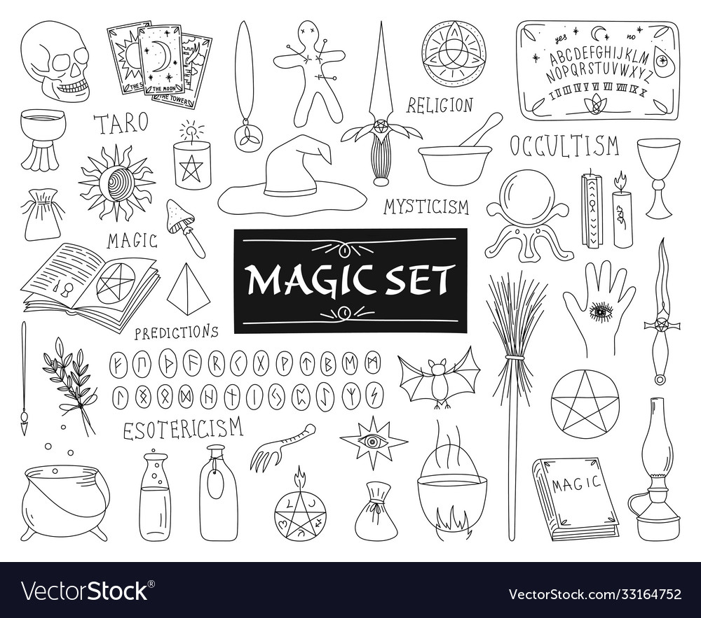 Collection attributes for magic on a white