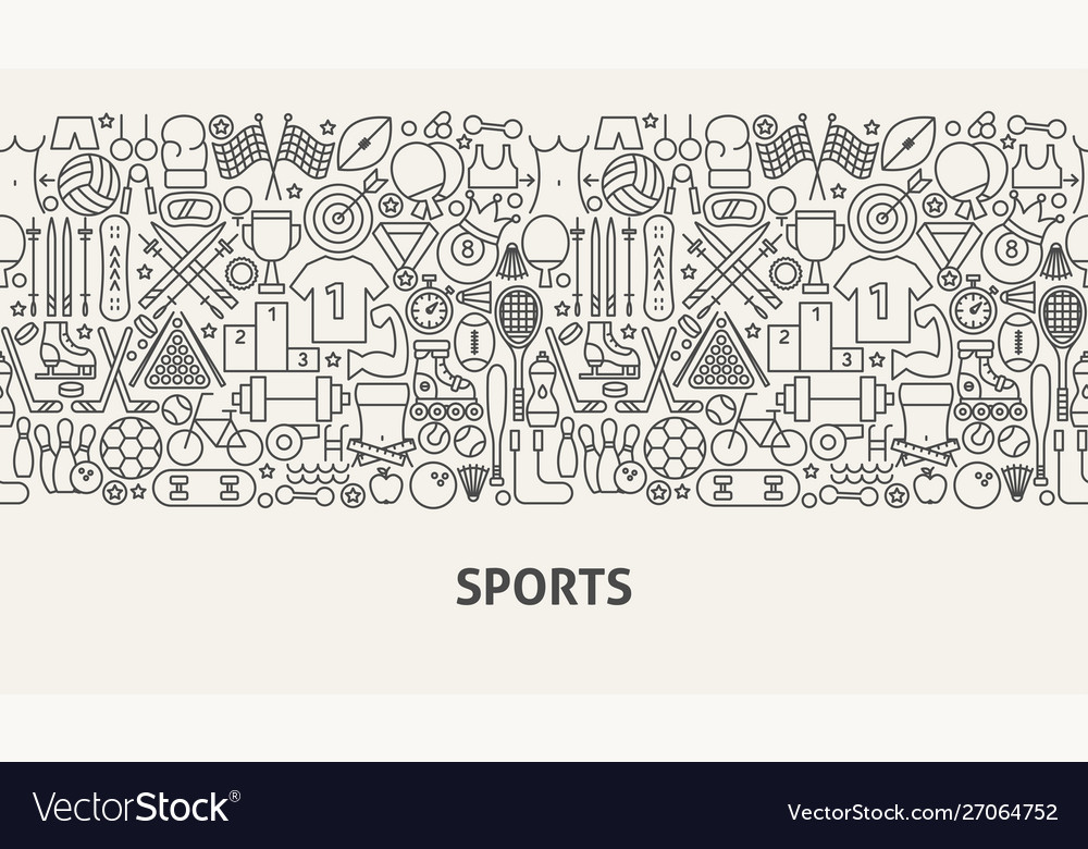 Sports banner concept