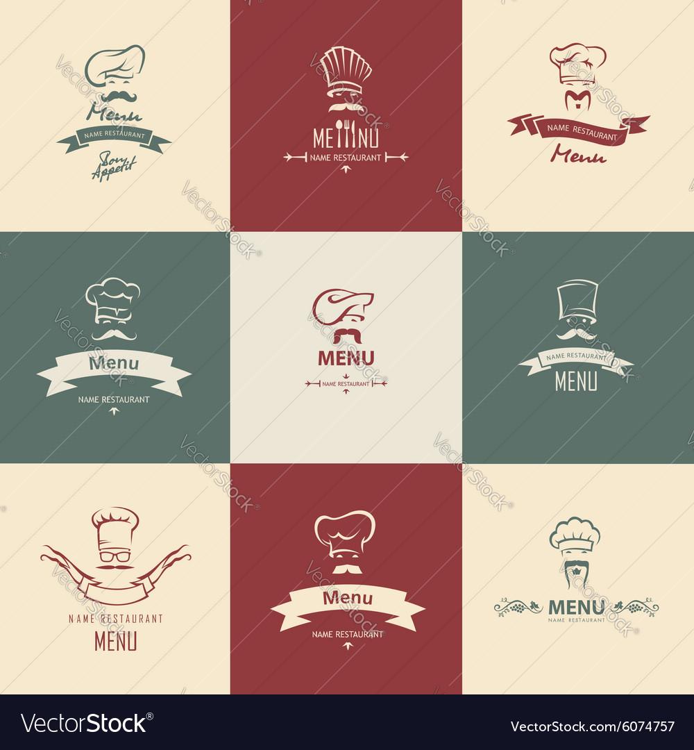 Chef menu set