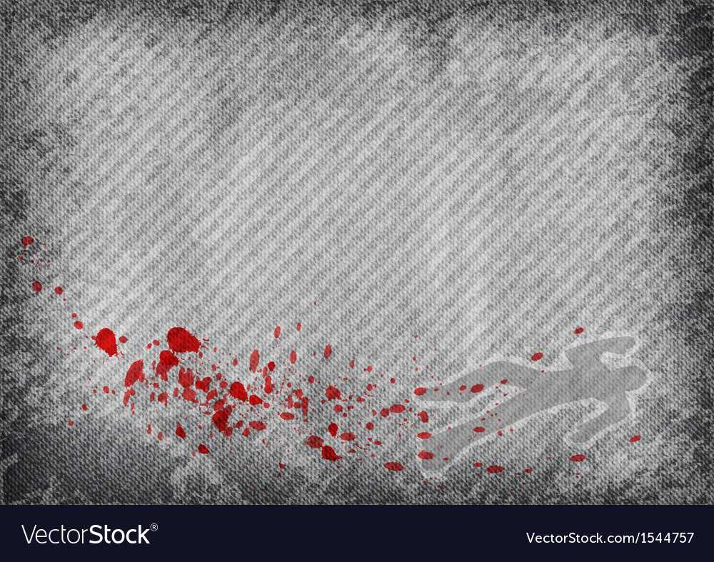Texture grey with murder vector image