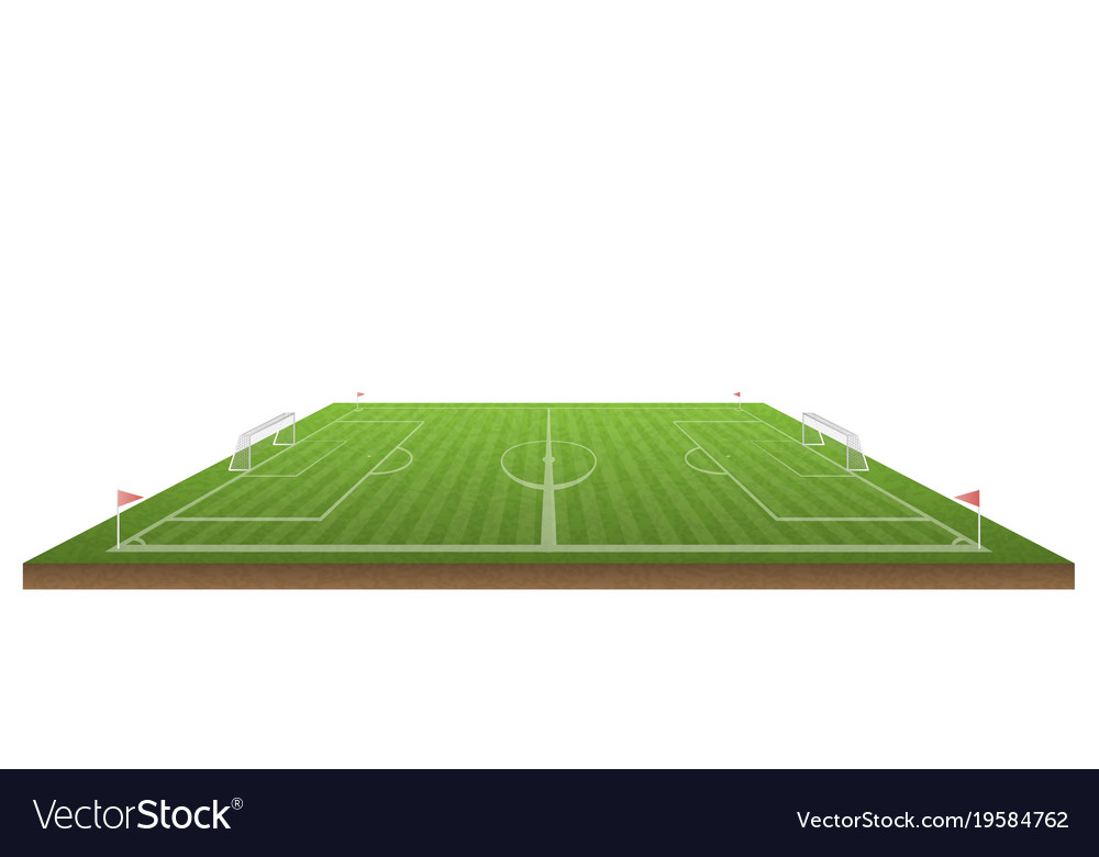 Football field and soccer