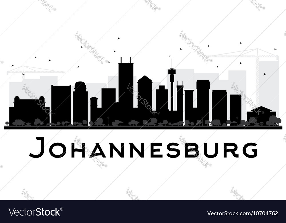 Johannesburg city skyline royalty free vector image johannesburg city skyline vector image thecheapjerseys Image collections