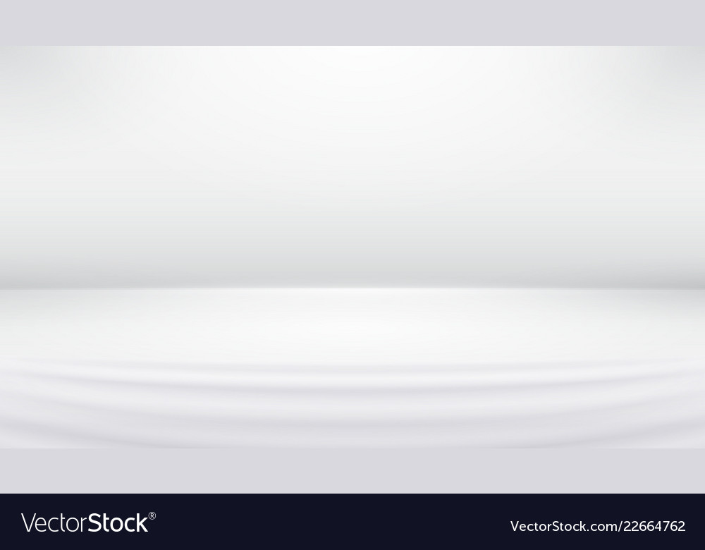 Studio backdrop white gray abstract background
