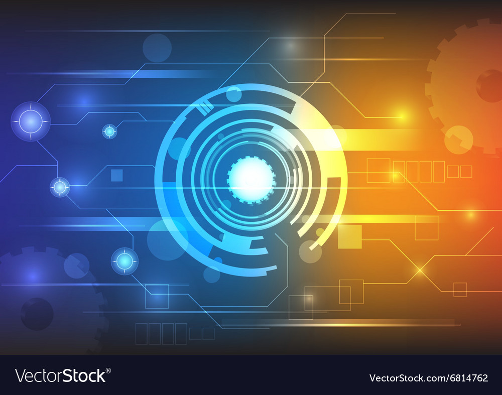 Technology background colorful
