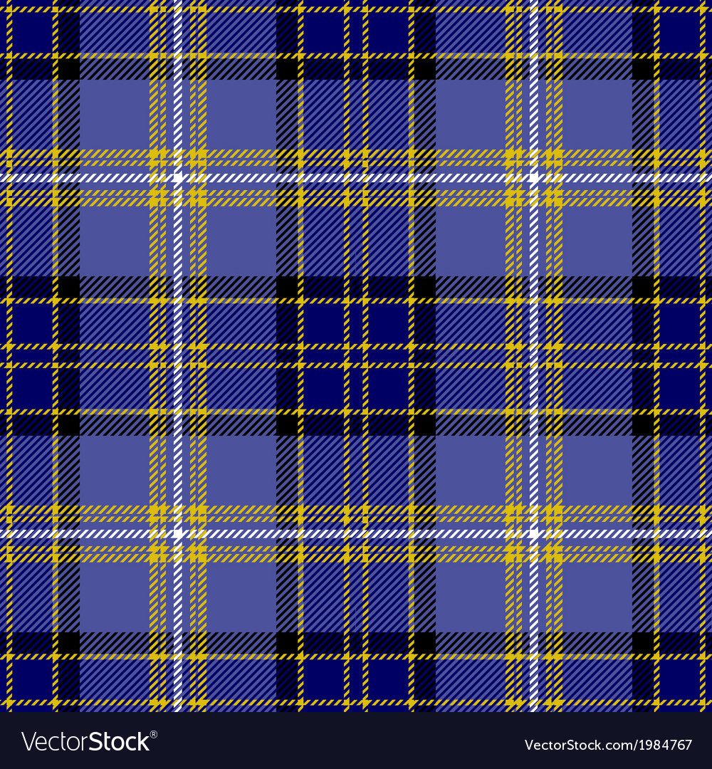 Traditional Seamless Tartan Plaid Pattern Design