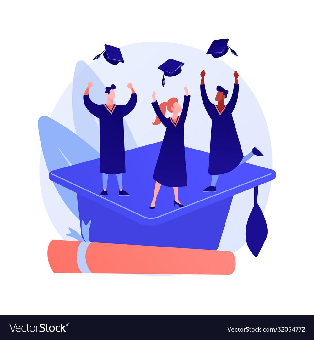 Bachelor degree concept metaphor
